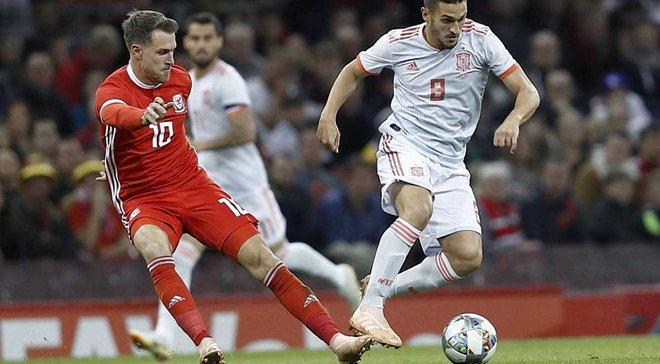 Уельс – Іспанія – 1:4 – відео голів та огляд матчу