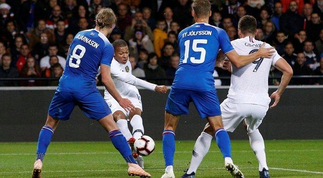 Франція – Ісландія – 2:2 – відео голів та огляд матчу