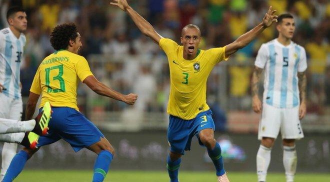 Бразилия – Аргентина – 1:0 – видео гола и обзор матча