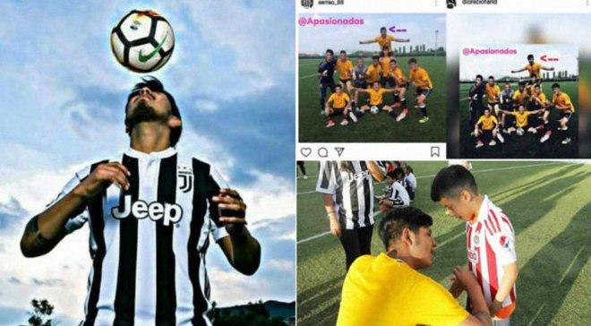 Ювентус стал частью большого обмана – фейковый футболист получил огромную популярность благодаря команде Роналду