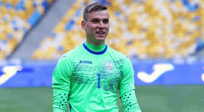Шевченко: Лунін зіграє за молодіжку і повернеться в збірну України
