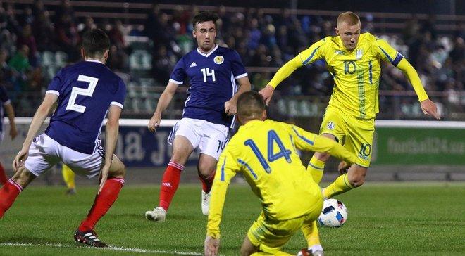 Украина U-21 – Шотландия U-21 – 3:1 – видео голов и обзор матча
