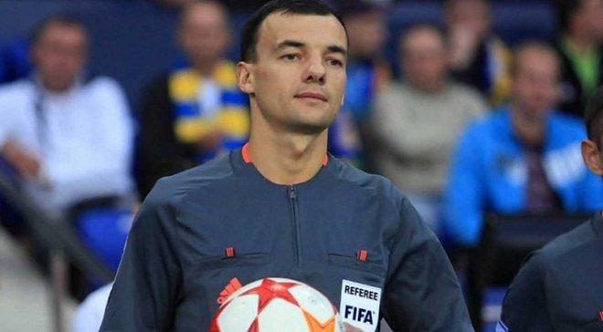 Українська бригада арбітрів отримала призначення на матч Ліги націй