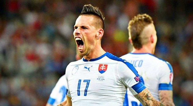 Гамшік встановив історичний рекорд збірної Словаччини за кількістю проведених матчів