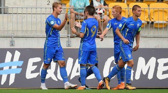 Збірна України U-19 поступилась Норвегії на 1-му етапі Євро-2019