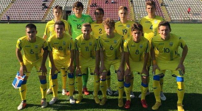 Украина U-17 с двузначным счетом разгромила Гибралтар в матче отбора к Евро-2019
