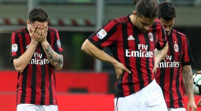 Мілан зазнав збитків у понад 100 млн євро
