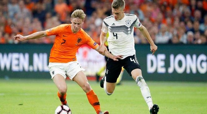 Нідерланди вдома розгромили Німеччину у Лізі націй