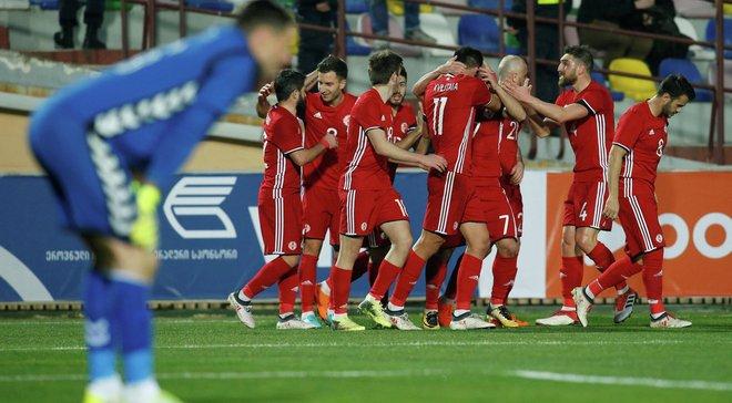Грузия – Андорра – 3:0 – видео голов и обзор матча