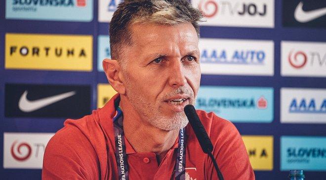 Тренер Чехії Шилгави: Матч з Україною покаже наш рівень