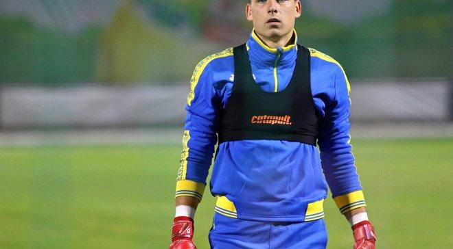 Украина – Чехия: Лунин вернулся в сборную и провел тренировку