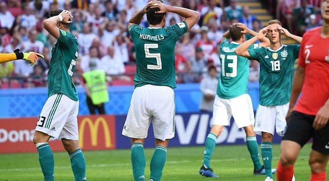 Німеччина вперше в історії не забила у трьох офіційних матчах поспіль