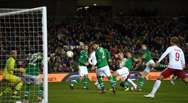 Ирландия – Дания – 0:0 – видеообзор матча