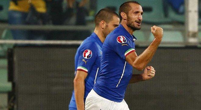 К'єлліні: Італії головне не вилетіти з групи в Лізі націй, це ускладнить шлях на Євро-2020