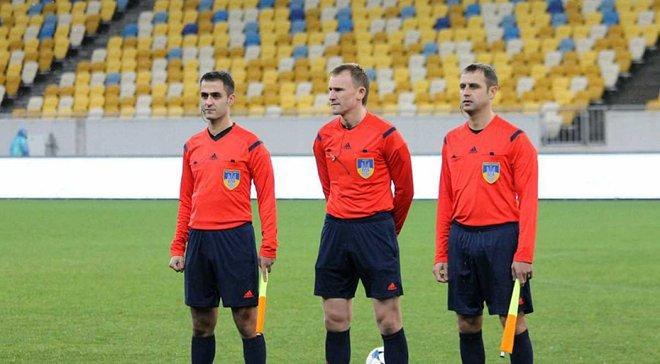Украинская бригада арбитров получила назначение на матч отбора к Евро-2019 (U-21)
