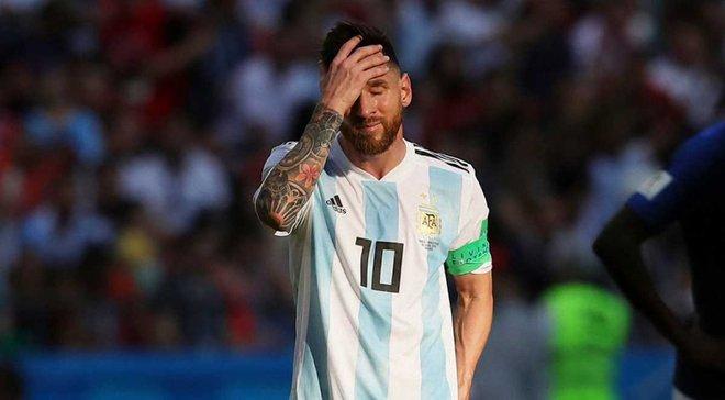 """""""Це ганьба для футболу"""": Неймар прокоментував відсутність Мессі у збірній Аргентини"""