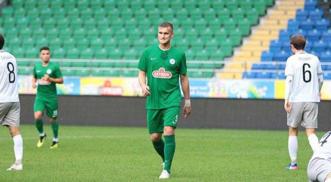 Гладкий забил гол за Ризеспор в товарищеском матче