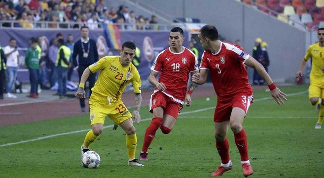 Румыния – Сербия – 0:0 – видеообзор матча