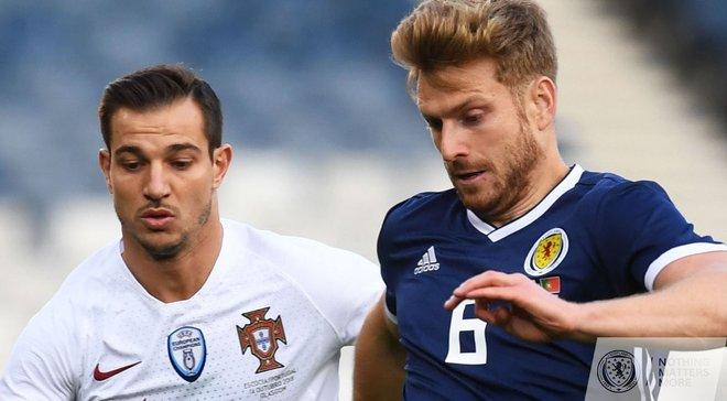Збірна Португалії впевнено перемогла Шотландію в товариському матчі