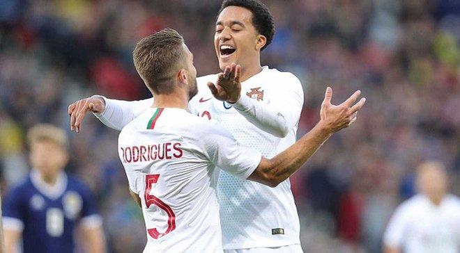 Шотландія – Португалія – 1:3 – відео голів та огляд матчу