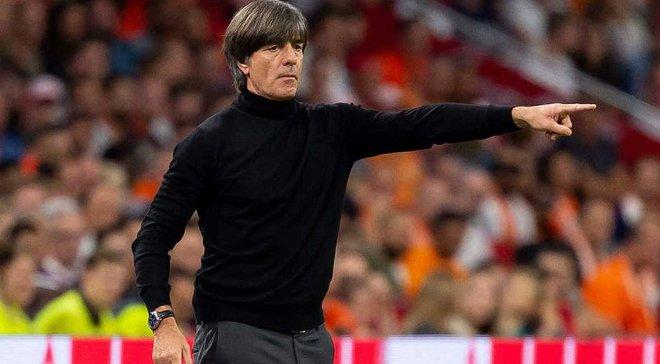 Немецкий футбольный союз размышляет над отставкой Лёва, однако не будет спешить с решением