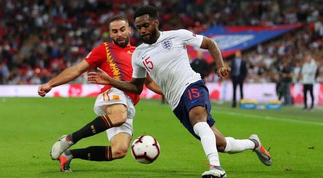 Испания – Англия: стартовые составы на матч Лиги наций