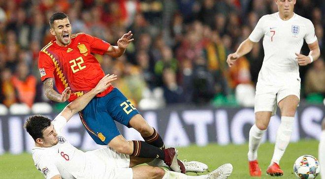 Іспанія вперше за 15 років програла вдома – до англійців це зробив тріумфатор Євро-2004