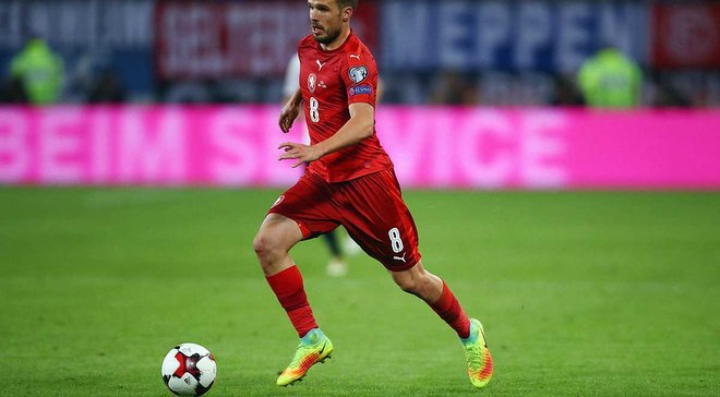 Защитник сборной Чехии Новак: Украина удивила меня своей игрой в первом очном матче