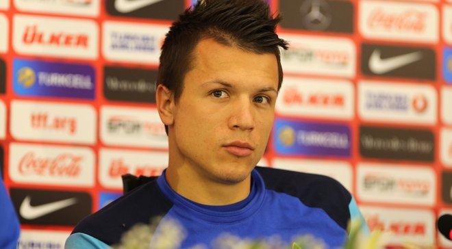 Коноплянка рассказал, чувствует ли давление сборная Украины перед матчем с Чехией