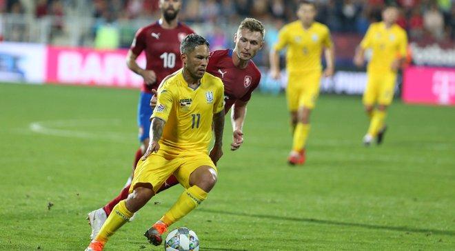 Украина – Чехия: команды определились с формой на матч Лиги наций