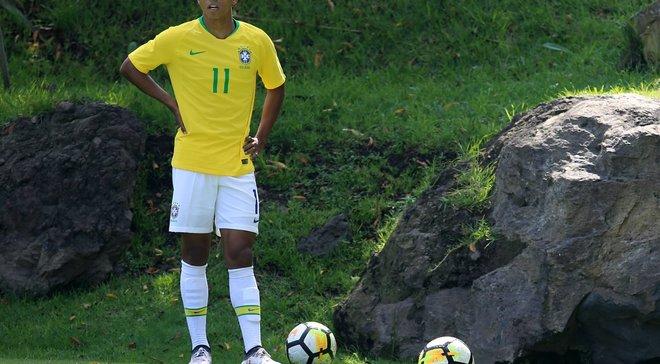 Сиприано отличился ассистом за сборную Бразилии U-20