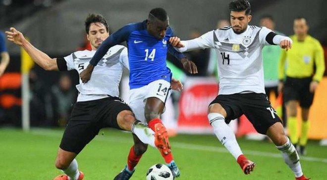 Франція – Німеччина: стартові склади команд на матч Ліги націй