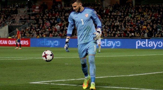 Он превзошел Кариуса: голкипер Македонии привез в свои ворота три курьезных гола – фейл дня