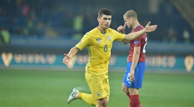 Главные новости футбола 16 октября: Украина победила Чехию в Лиге наций и повысилась в классе, умер Олег Базилевич