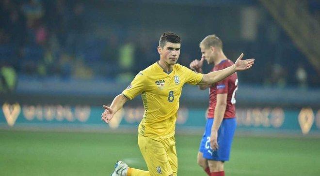 Малиновский – об очередном голе за сборную Украины: Нахожу уверенность в себе