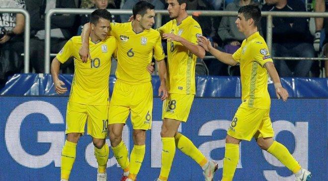 Украина за победу в группе Лиги наций получит 3 млн евро