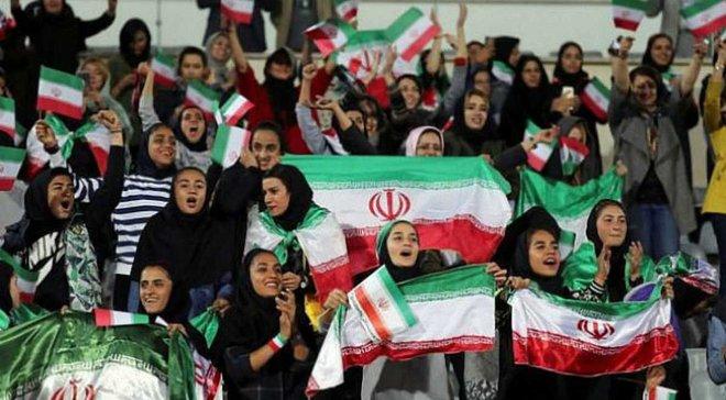 В Ірані жінки відвідали футбольний матч вперше з 1979 року