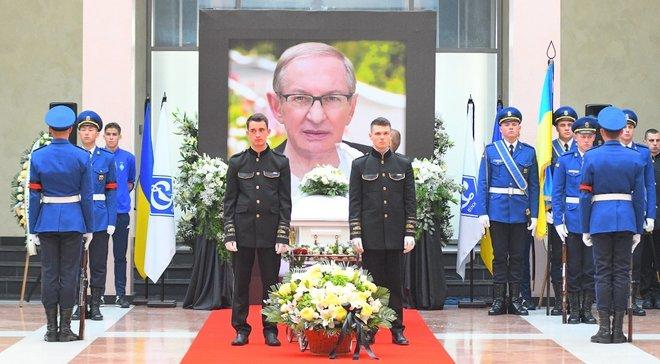 Базилевича похоронили рядом с Лобановским