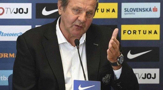 """""""Я был шокирован"""", – экс-наставник сборной Словакии Козак рассказал сенсационные подробности своей отставки"""