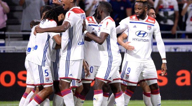 Соперник Шахтера Лион дома победил Ним и вернулся на 3 строчку Лиги 1