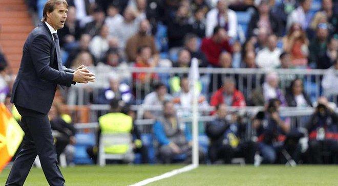 Лопетегі відреагував на інформацію про свою можливу відставку з Реала