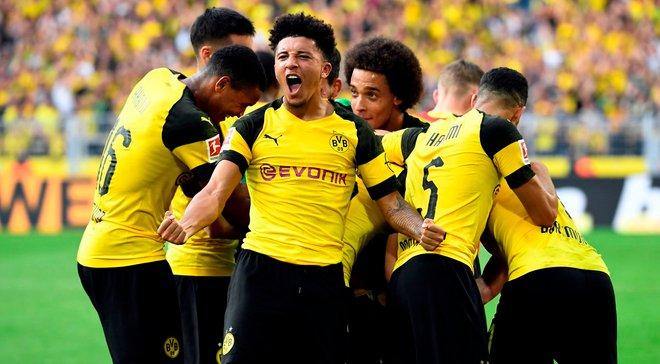 Боруссия Д впервые в истории забила минимум 4 гола в четырех матчах Бундеслиги подряд