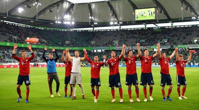 Вольфсбург – Баварія – 1:3 – відео голів та огляд матчу
