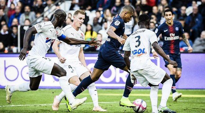 ПСЖ – Амьен – 5:0 – видео голов и обзор матча