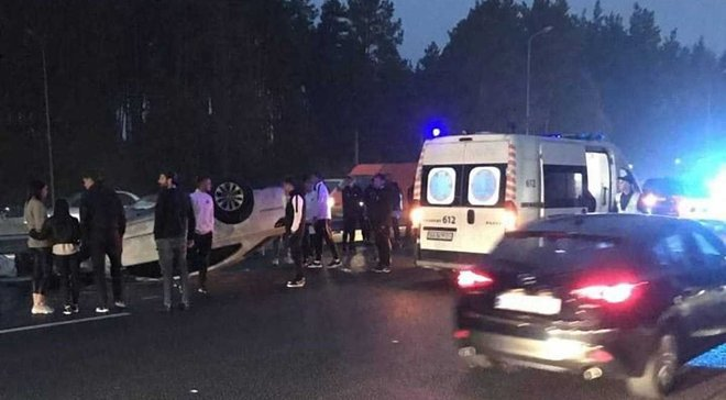 Гравці Колоса потрапили у моторошну ДТП після матчу з СК Дніпро-1