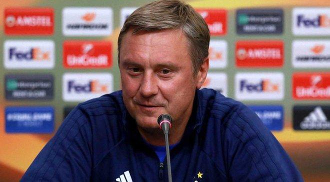 Хацкевич про матч з Ворсклою: Гравці Динамо зробили мені подарунок на День народження