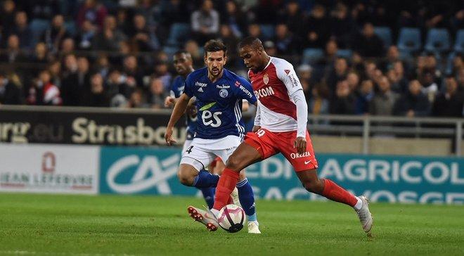 Лига 1: Монако в дебютном матче Анри проиграл Страсбуру, Лилль на выезде победил Дижон