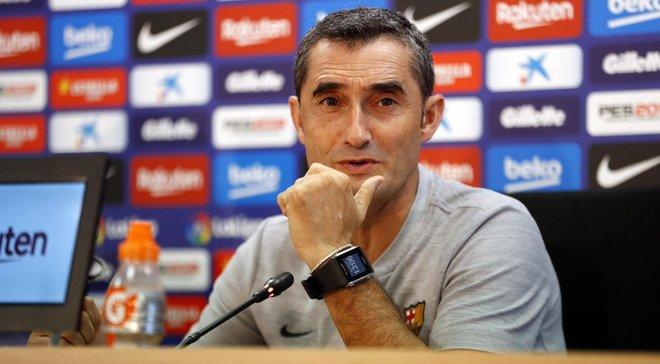 Вальверде прокоментував травму Мессі та свій контракт з Барселоною