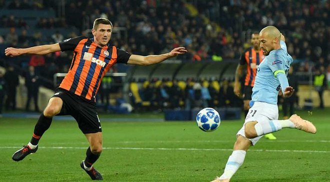 Шахтер – Манчестер Сити – 0:3 – видео голов и обзор матча