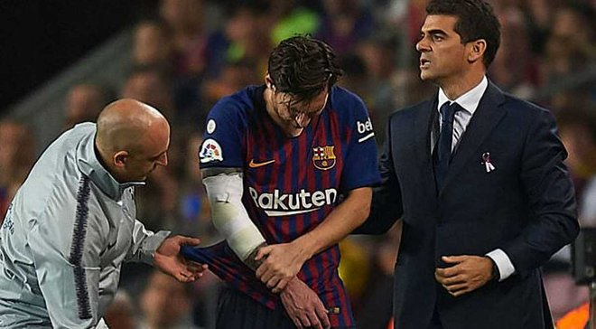 Пике: Травма Месси не должна сломать игру Барселоны